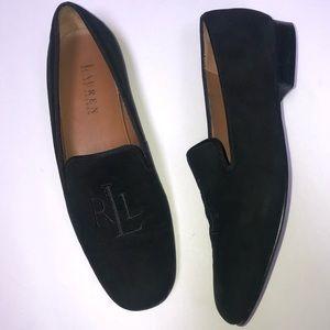 Ralph Lauren monogrammed loafers